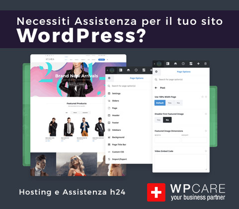 Assistenza WordPress Professionale